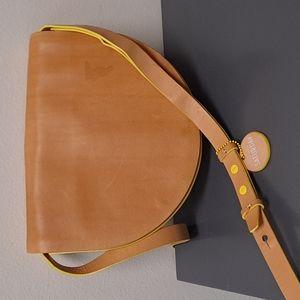 Kate Spade Saturday half-circle leather bag